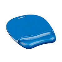 Mouse pad con poggiapolso in gel blu FELLOWES Mouse Pad Gel Blu su Mediaworld.it