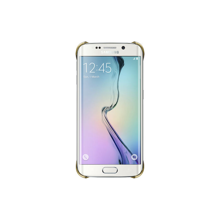 SAMSUNG Clear Cover S6 Edge Gold - PRMG GRADING OOBN - SCONTO 15,00% - thumb - MediaWorld.it