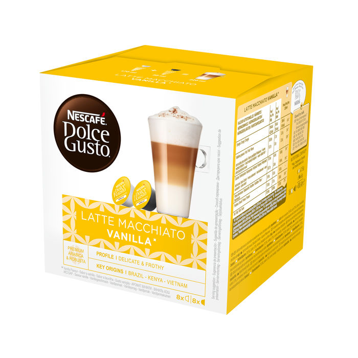 NESCAFE' Dolce Gusto Latte Macchiato Vanilla - thumb - MediaWorld.it
