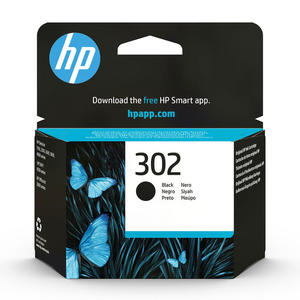 HP 302 Nero cartuccia d'inchiostro originale F6U66AE - thumb - MediaWorld.it
