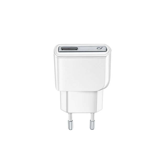 Cellularline USB Charger Ultra - Fast Charge Universale Caricabatterie a 10W Bianco - thumb - MediaWorld.it