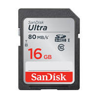Secure Digital SanDisk Ultra 16GB - Scheda di Memoria SDHC su Mediaworld.it