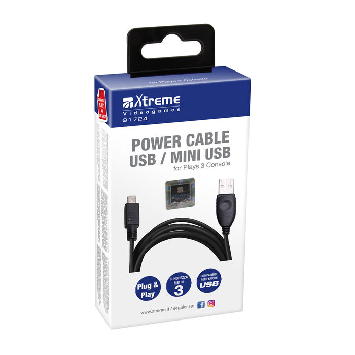 XTREME PS3 USB EXTENSION CABLE - PRMG GRADING ONBN - SCONTO 15,00% - thumb - MediaWorld.it