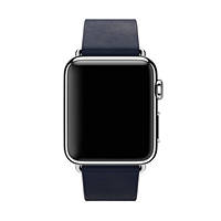 Cinturino  per APPLE WATCH 38 mm. Large APPLE Cinturino modern blu notte (38 mm) - Large su Mediaworld.it