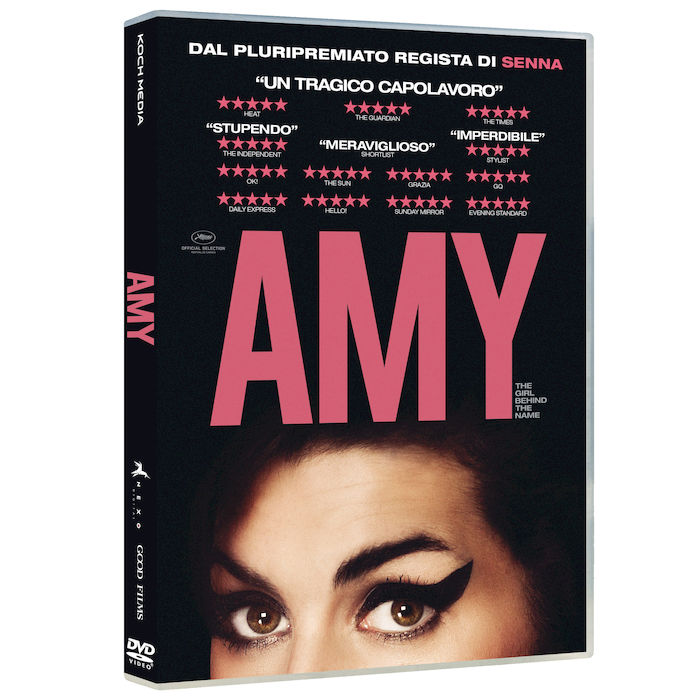 AMY. THE GIRL BEHIND THE NAME - DVD - thumb - MediaWorld.it