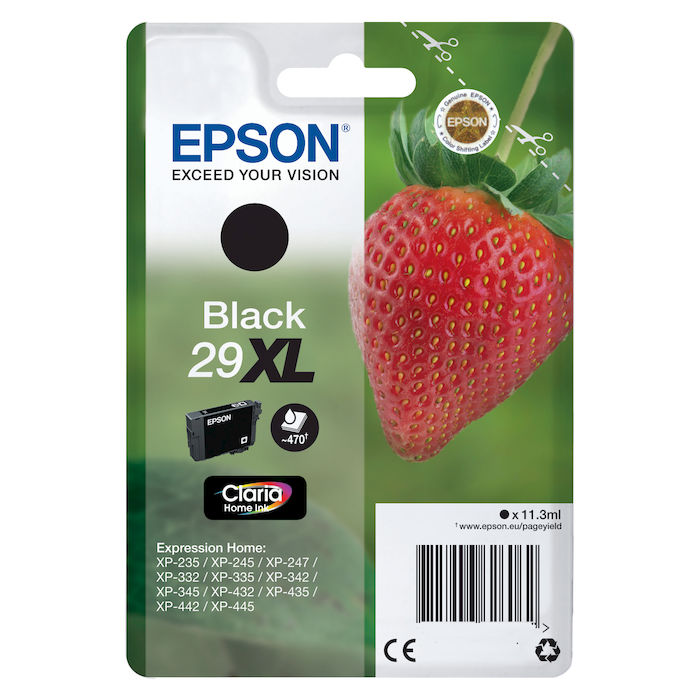 EPSON serie 29XL fragola T2991 nero XL cartuccia di inchiostro originale - thumb - MediaWorld.it