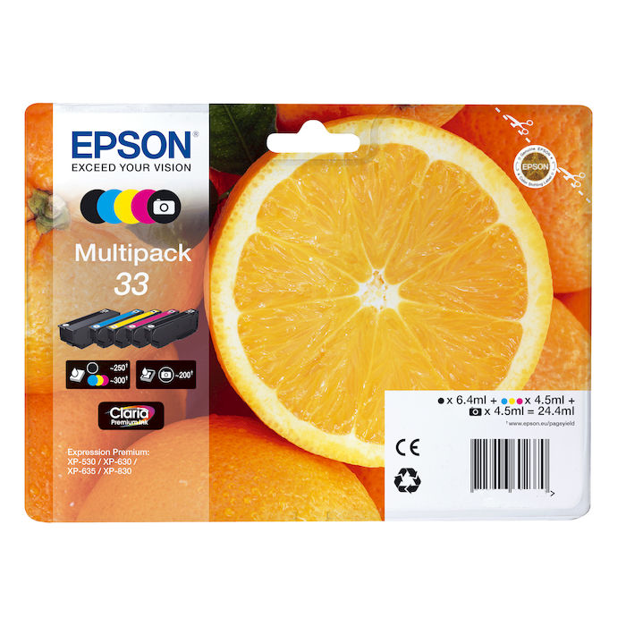 EPSON Multipack 33 - thumb - MediaWorld.it