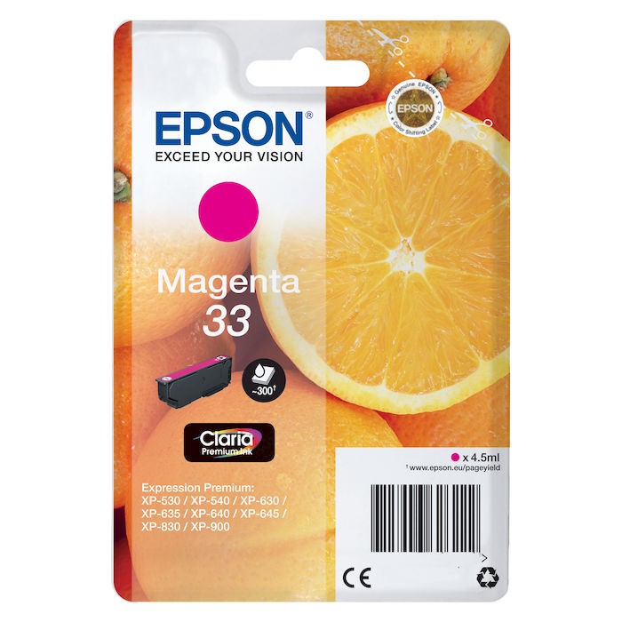 EPSON Magenta 33 - thumb - MediaWorld.it