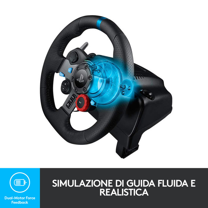 LOGITECH G29 Driving Force Racing - thumb - MediaWorld.it