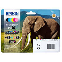 Cartuccia EPSON Elefante 24 XL Multipack su Mediaworld.it