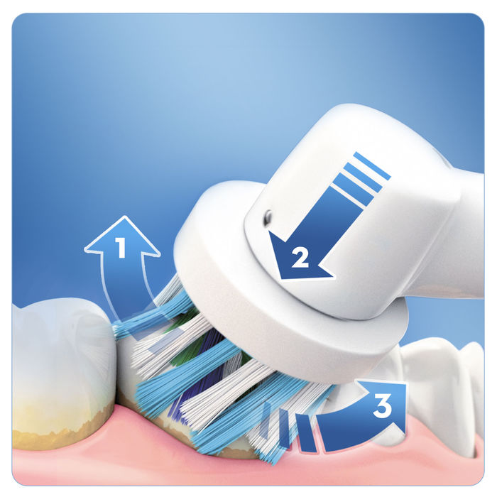 ORAL-B Pro 670 Cross Action - thumb - MediaWorld.it