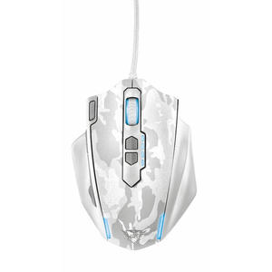 TRUST GXT155W Gaming Mse-Wht - MediaWorld.it