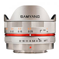 Obiettivi Mirrorless SAMYANG 7.5MM F/3.5 MFT FishEye silver su Mediaworld.it