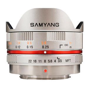 SAMYANG 7.5MM F/3.5 MFT FishEye silver - MediaWorld.it