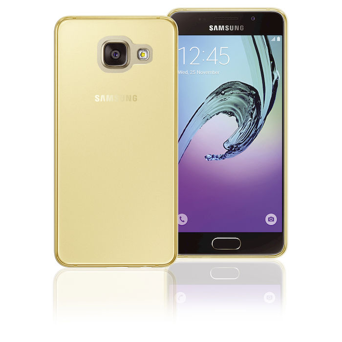 Phonix Cover Tpu Colore Oro per Samsung Galaxy A3 2016 - PRMG GRADING OOCN - SCONTO 20,00% - thumb - MediaWorld.it