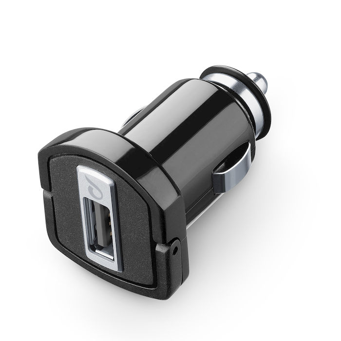 Cellularline USB Car Charger Ultra - Fast Charge Universale Micro caricabatterie da auto USB  Nero - thumb - MediaWorld.it
