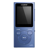 lettore MP3 SONY NWE394L Azzurro su Mediaworld.it