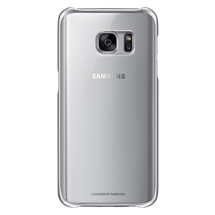 SAMSUNG Cover Clear per Samsung Galaxy S7 Argento - thumb - MediaWorld.it