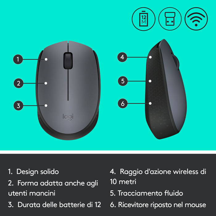 LOGITECH M171 - thumb - MediaWorld.it