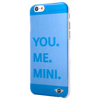 Cover per IPHONE 6/6S MINI COVER TRASP BLUE IPHONE 6S/6 su Mediaworld.it