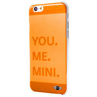Cover per IPHONE IPHONE 6/IPHONE 6S MINI COVER TRASP ORANGE IPHONE 6S/6 su Mediaworld.it