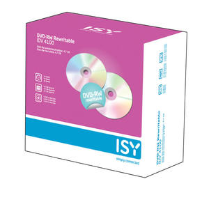 ISY DVD-RW 5ER PACK SLIM CASE - MediaWorld.it