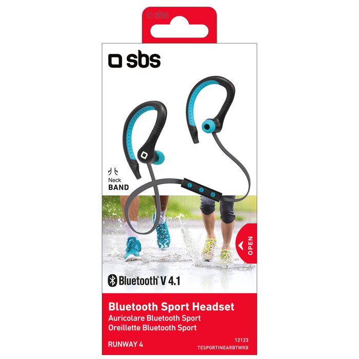 SBS AURICOLARI STEREO BLUETOOTH SPORT RUNWAY 4 - thumb - MediaWorld.it