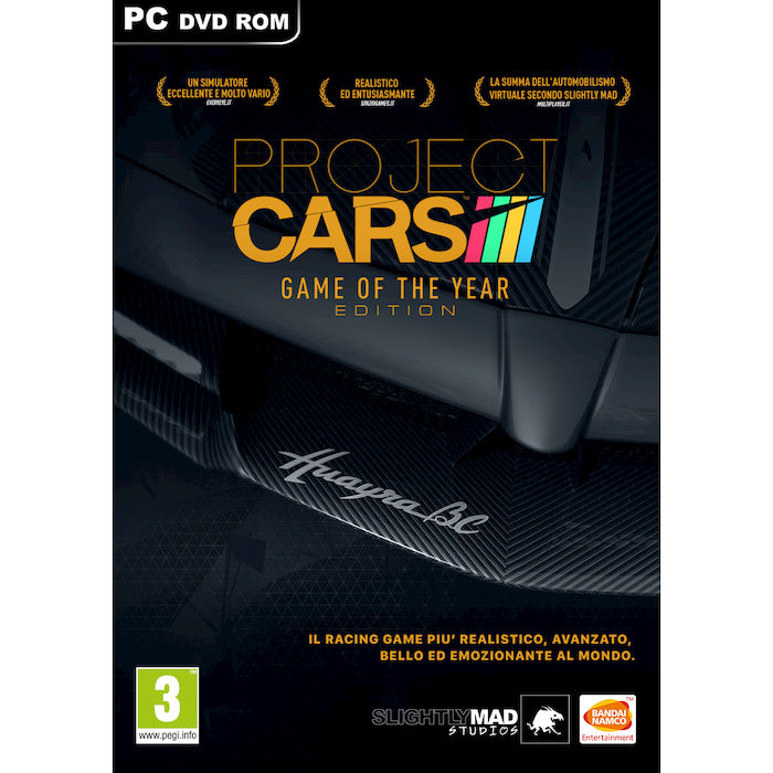 PROJECT CARS - Game Of The Year - PC - PRMG GRADING OOBN - SCONTO 15,00% - thumb - MediaWorld.it