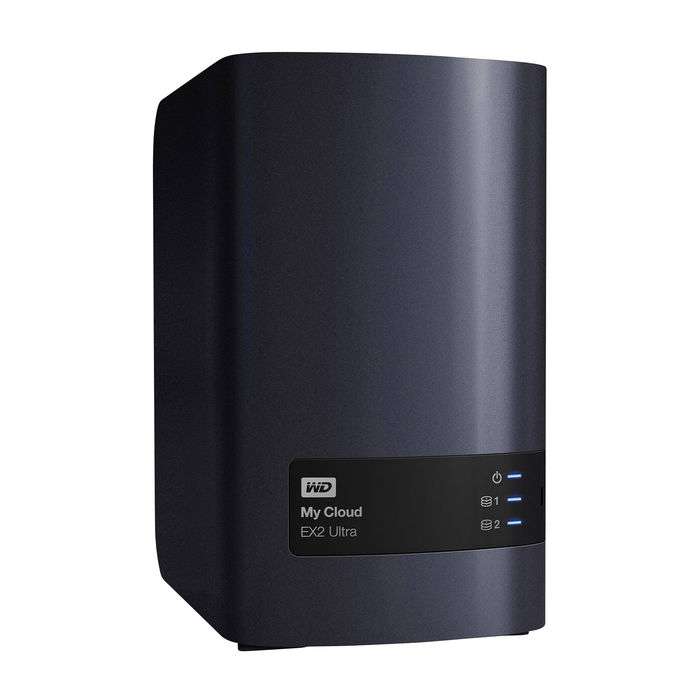 WD My Cloud EX2 Ultra, NAS 2-bay, Diskless - thumb - MediaWorld.it