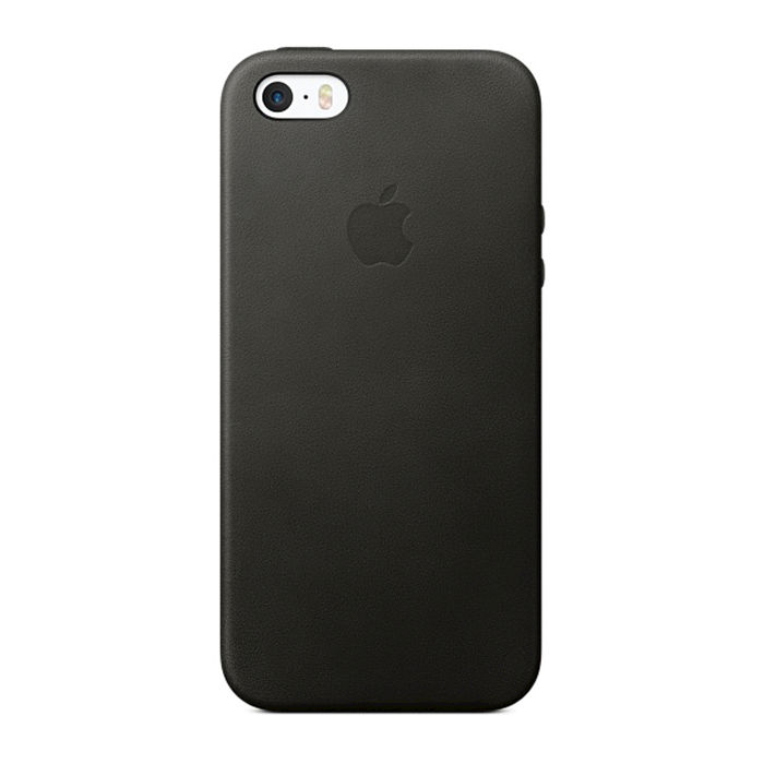 APPLE Cover Black Leather IPhone SE Nero - thumb - MediaWorld.it