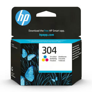 HP 304 Tricromia cartuccia d'inchiostro originale N9K05AE - MediaWorld.it