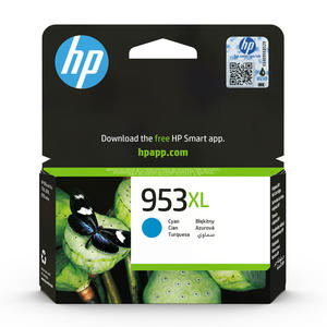 HP 953XL Ciano cartuccia d'inchiostro originale XL F6U16AE - MediaWorld.it