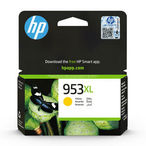 HP 953XL Giallo cartuccia d'inchiostro originale XL F6U18AE - MediaWorld.it