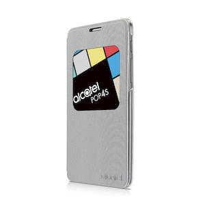 ALCATEL VIEW FLIP COVER POP 4S SILVER - PRMG GRADING OOBN - SCONTO 15,00% - MediaWorld.it
