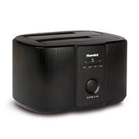 Docking Station USB 3.0 Dual Bay per HD SATA 2.5'/3.5' HAMLET Docking station SATA USB 3.0 HXDD2535CLN su Mediaworld.it