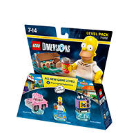 Level Pack Dimensions: The Simpsons WARNER BROS Lego Dimensions Level Pack The Simpsons su Mediaworld.it