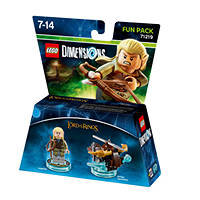 Fun Pack Dimensions Legolas WARNER BROS Lego Dimensions Fun Pack Legolas su Mediaworld.it