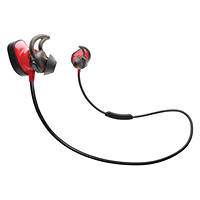 Auricolari Bluetooth BOSE® SOUNDSPORT PULSE WIRELESS RED su Mediaworld.it