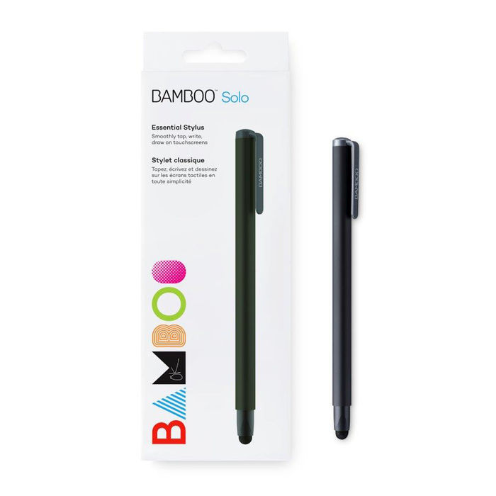 WACOM Bamboo Stylus Solo 4 Black - thumb - MediaWorld.it