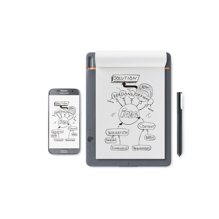 WACOM Bamboo Slate Small - thumb - MediaWorld.it