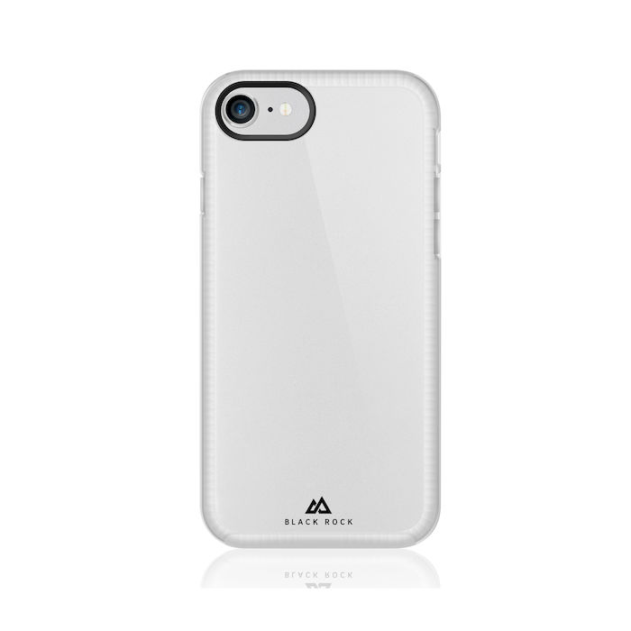BLACK ROCK COVER CLEAR IPHONE 8/7/6S/6 - thumb - MediaWorld.it