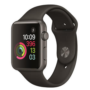 Apple Watch APPLE Watch 1 Sport 42mm Grigio siderale cinturino nero su Mediaworld.it