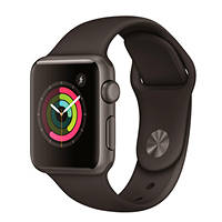 Apple Watch APPLE Watch 1 Sport 38mm Grigio Siderale cinturino nero su Mediaworld.it
