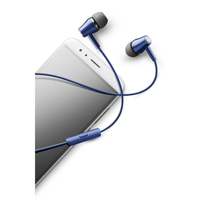 Cellularline Voice In Ear - Universale Auricolari perfect fit in-ear Blu - thumb - MediaWorld.it