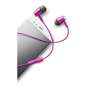 Cellularline Voice In Ear - Universale Auricolari perfect fit in-ear Rosa - thumb - MediaWorld.it