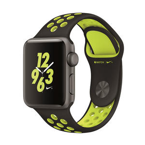 Smartwatch APPLE Watch Nike+ 38mm Grigio Siderale Cinturino Nero Volt su Mediaworld.it