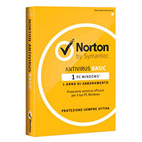 Antivirus SYMANTEC Norton Antivirus Basic 1 Device su Mediaworld.it