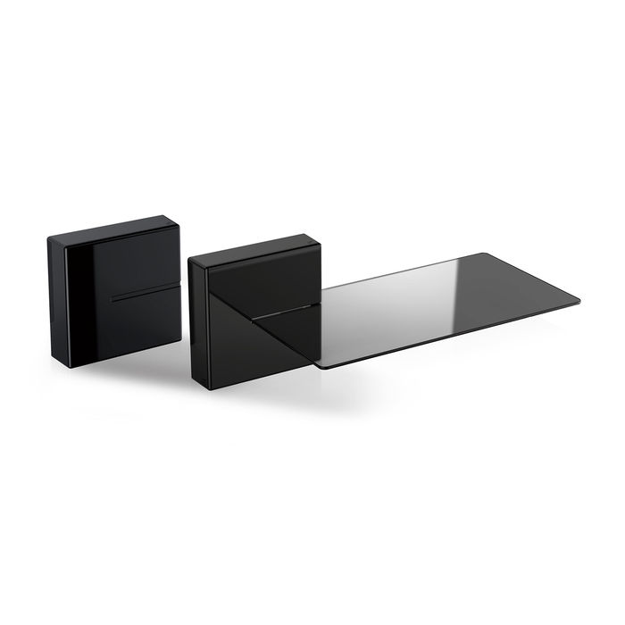 Meliconi Porta Tv Mediaworld.Meliconi Ghost Cubes Shelf 2 Black Mediaworld It