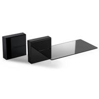 Mobili TV MELICONI GHOST CUBES SHELF 2 BLACK su Mediaworld.it