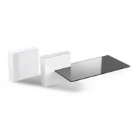 mobili tv MELICONI GHOST CUBE SHELF 2 WHITE su Mediaworld.it